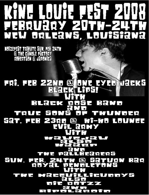 louie fest 2 flyer