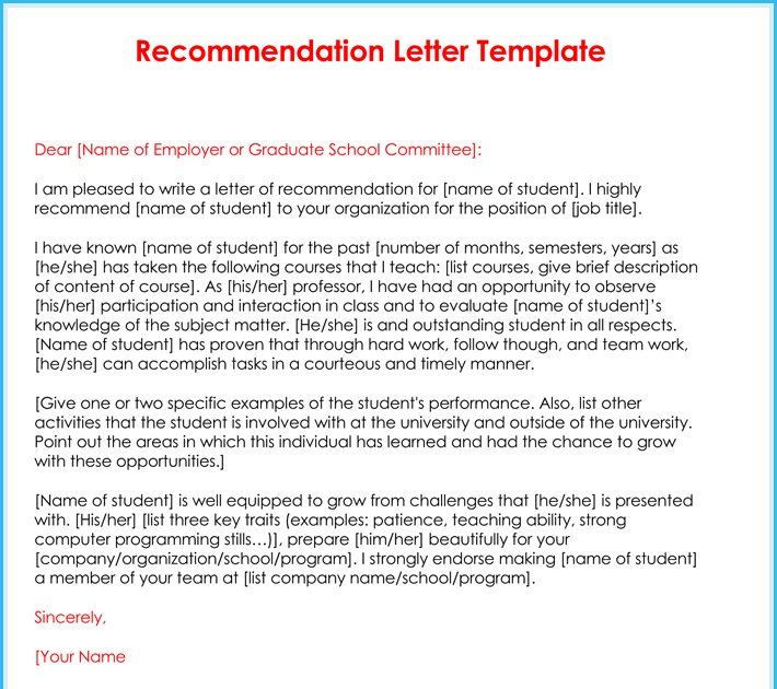 Recommendation Letter Samples For Students from lh5.googleusercontent.com