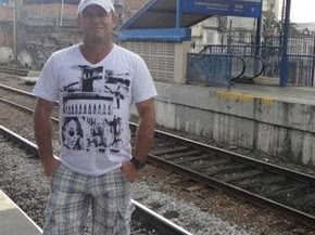 PM Marcos Roberto morreu com um tiro nas costas durante assalto em Cruzeiro do Sul (Foto: Arquivo Facebook)