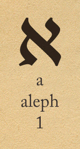 the hebrew letter aleph