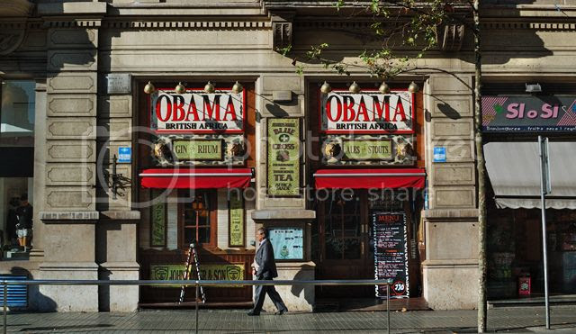 Obama British Africa Pub, Barcelona [enlarge]
