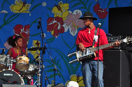 Homemade Jamz Blues Band at Ottawa Bluesfest 2009