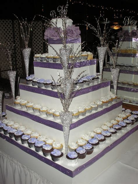 19 best images about Purple and silver candy table on