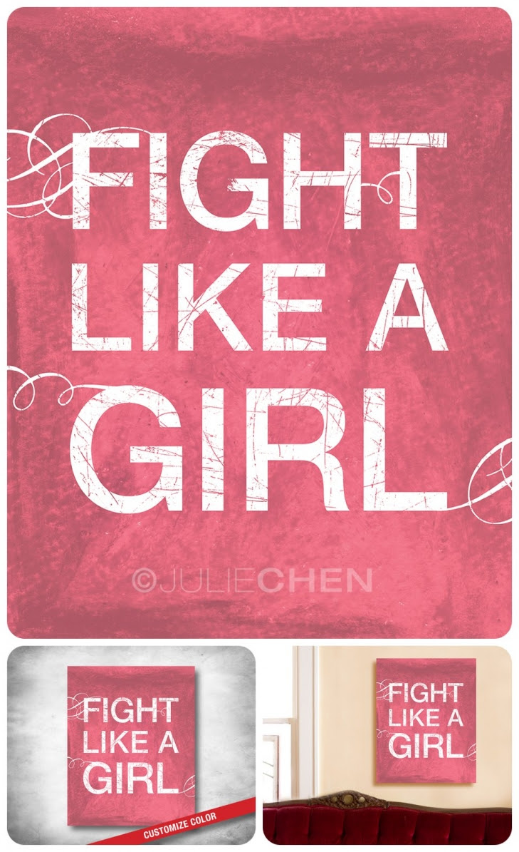 Unique Fight Like A Girl Club Images Darlene Franklin Wallpaper