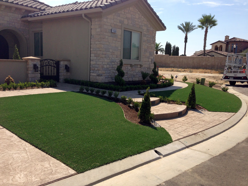 Grass Turf Sun Lakes Arizona Backyard Playground Front Yard