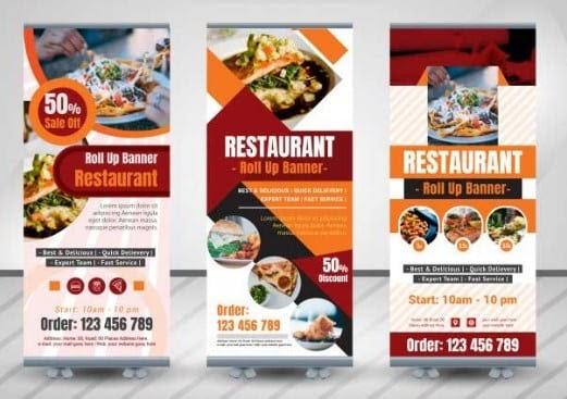 Contoh Gambar Banner Makanan - desain spanduk keren