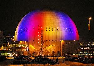 English: Globen (The Globe Arena), Stockholm, ...
