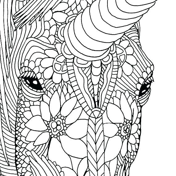 31 Adult Coloring Pages Unicorn - Free Printable Coloring Pages