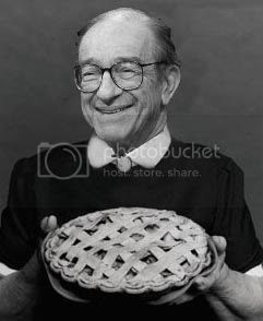 Maestro Greenspan: anyone for some more subprime pie?