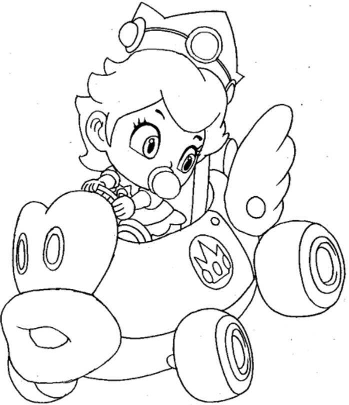 35 Mario Kart Ausmalbild Besten Bilder Von Ausmalbilder