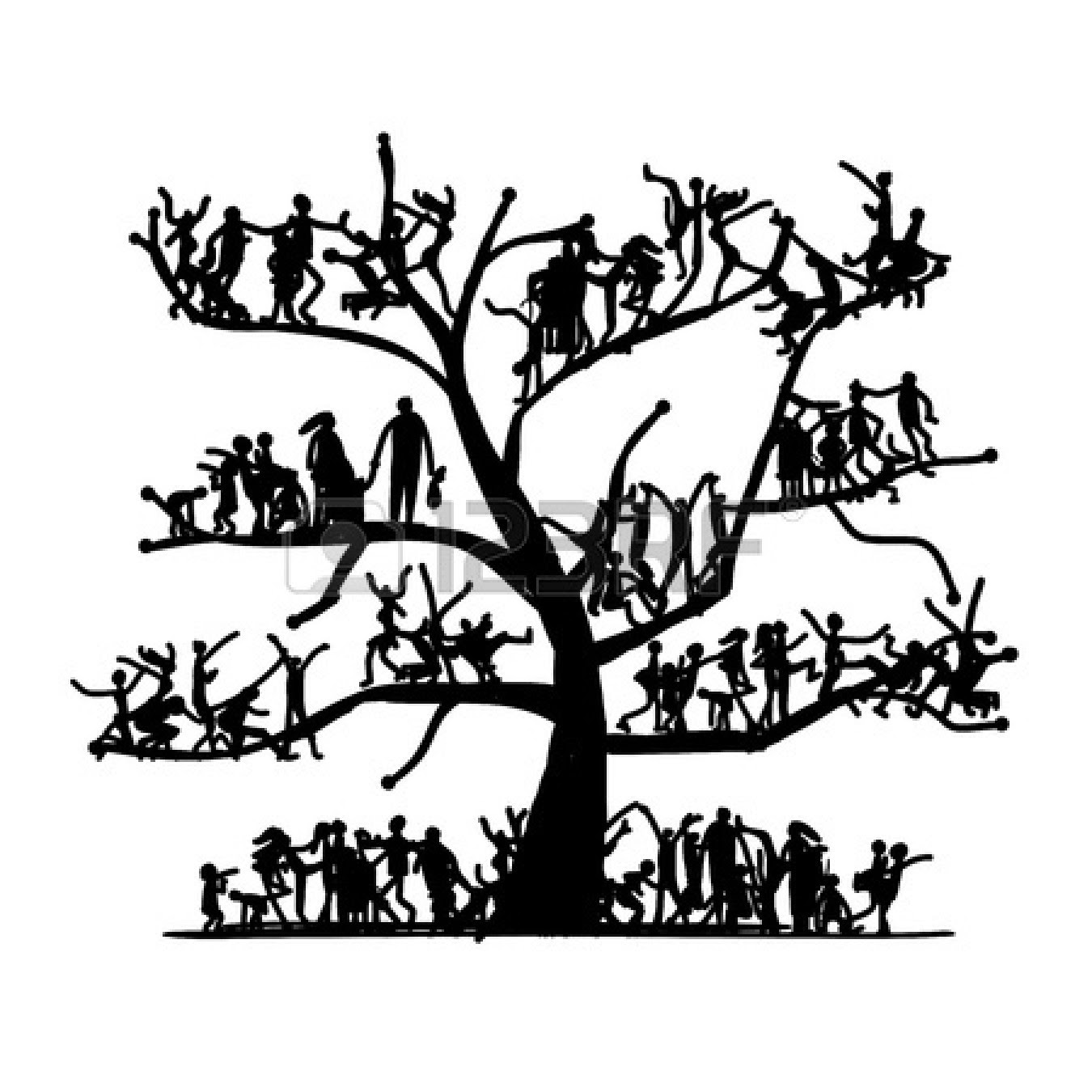 Png Clipart Family Tree Clip Art Vector