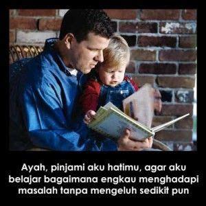 gambar kata kasih sayang ayah  anaknya kuliah