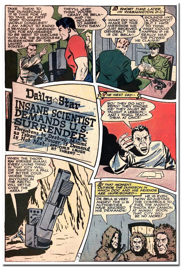 Thrilling Comics #56 - Officials laugh
