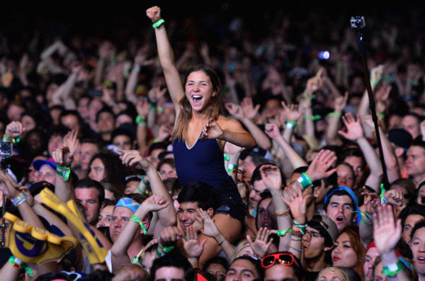 INDIO, CA - APRIL 12: A music fan attends day 1 of the 2013 Coachella Valley Music & Arts Festival at the Empire Polo Club on April 12, 2013 in Indio, California. (Photo by Frazer Harrison/Getty Images for Coachella) ORG XMIT: 165510695