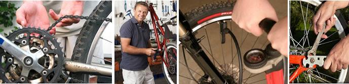 curso de reparación de bicicletas