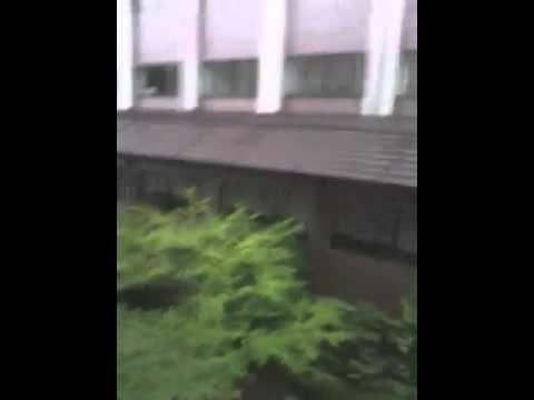 Typhoon Warning at Ritsumeikan