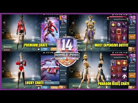 NEXT PREMIUM CRATE || NEXT LUCKY CRATE || MOST EXPENSIVE OUTFIT PHARAOH ...