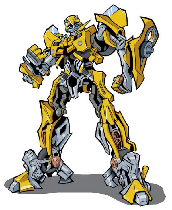 transformers bumblebee zum ausmalen  malvorlagen