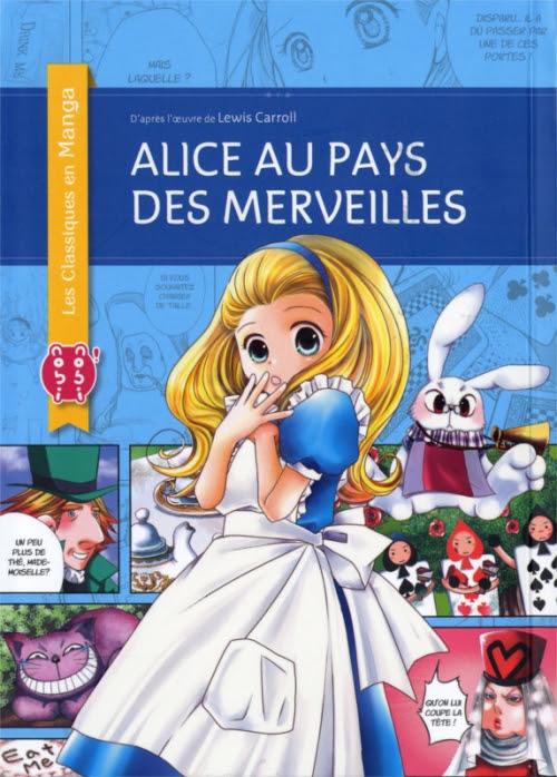 Couverture Alice au Pays des Merveilles