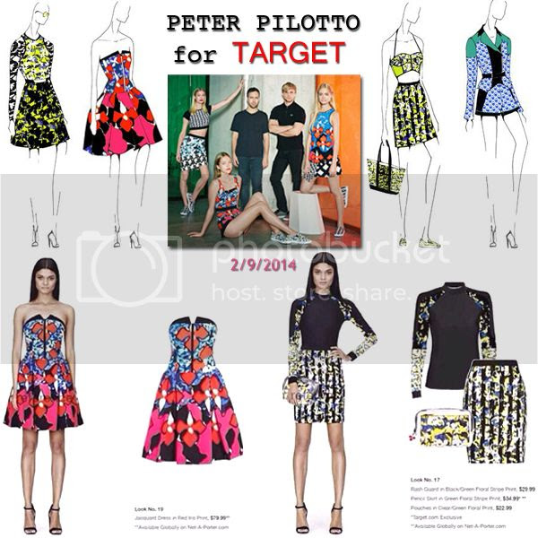 Peter Pilotto for Target Lookbook Images and preview