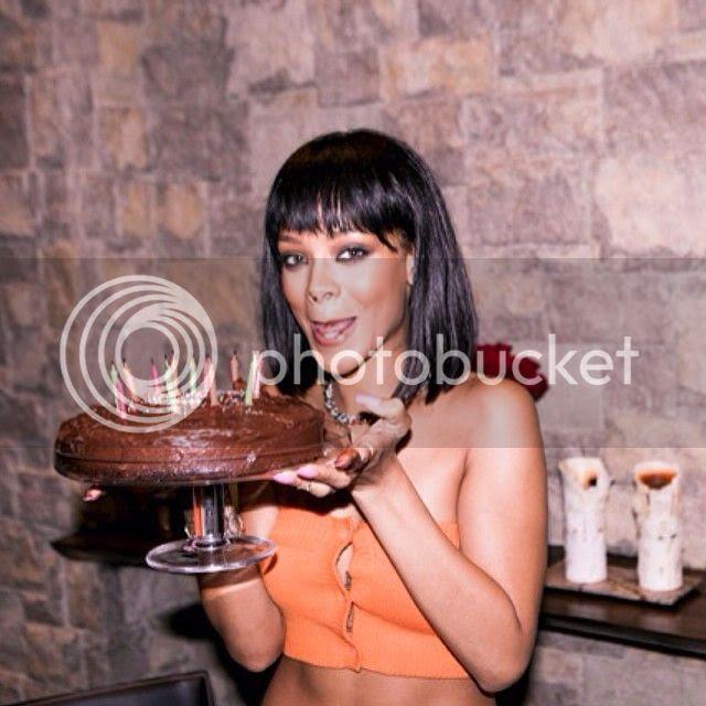 Rihanna celebrates 26th birthday...