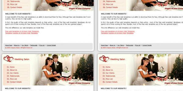 More Information on Free wedding layout