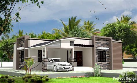 square feet  bedroom single floor modern home design