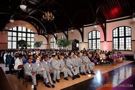Wedding ceremony at McBryde Hall   Winthrop University