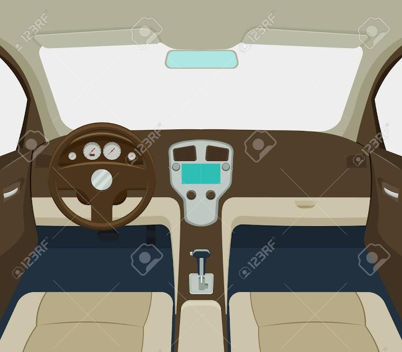 Car Interior Cartoon