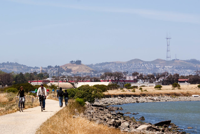 Heron's Head Park photo courtesy of SF Bike Coalition