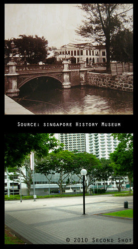 Stamford Canal and Raffles Institution, 1890s