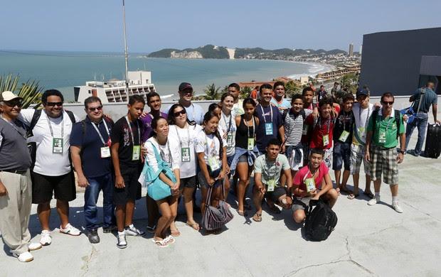 Jogos Escolares da Juventude, 12-14 anos – Chegada das delegações (Foto: Wander Roberto/Inovafoto/COB)