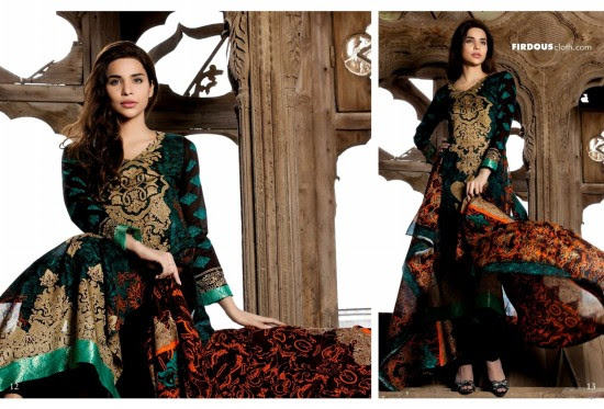 Firdous-Lawn-New-Latest-Fashionable-Designs-Exclusive-Springs-Summer-Collection-2013-