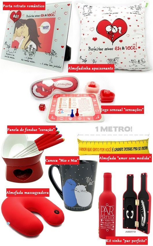 Dia dos Namorados 2011: mimos originais