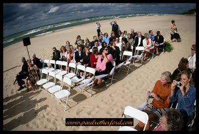Wedding Locations Michigan on Lake Michigan Beach Wedding ...