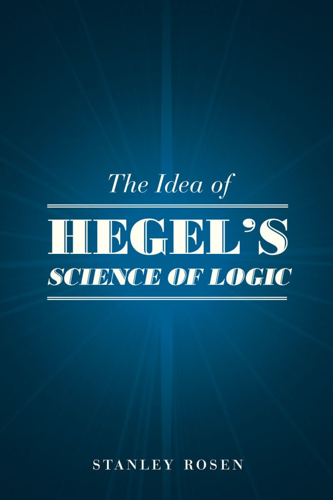 hegel science of logic