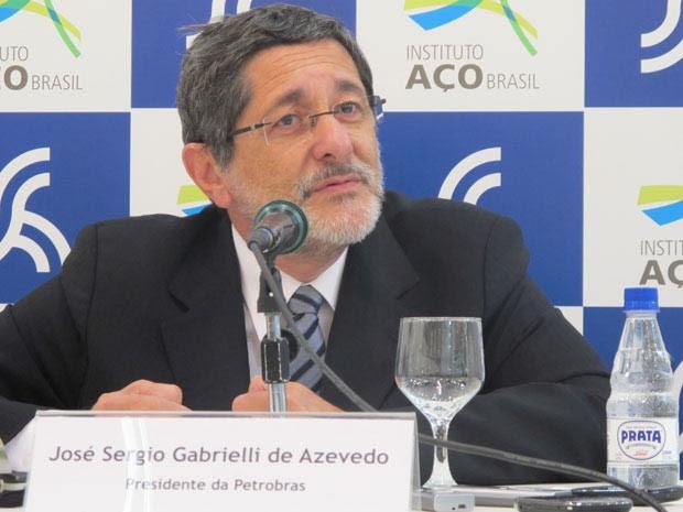 José Sergio Gabrielli, presidente da Petrobras (Foto: Darlan Alvarenga/G1)