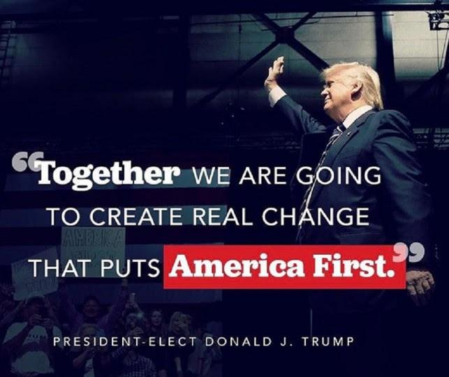 <p>Cartel promocional de Trump del pasado 10 de enero.</p>