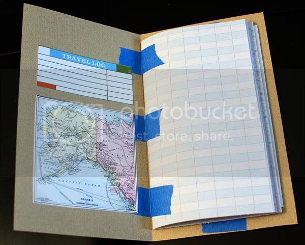 Alaska Travel Journal Inside 1
