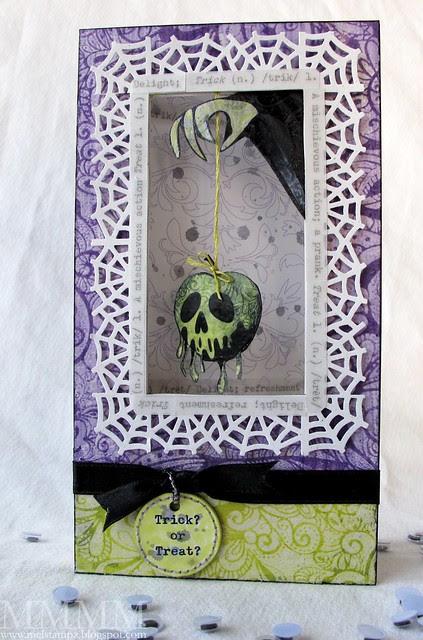 snow white poison apple card