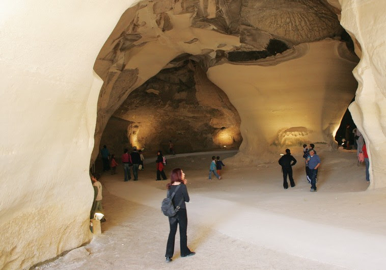 The 'Bell Caves' at Beit Guvrin