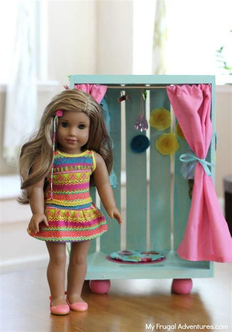 diy american girl doll closet  frugal adventures