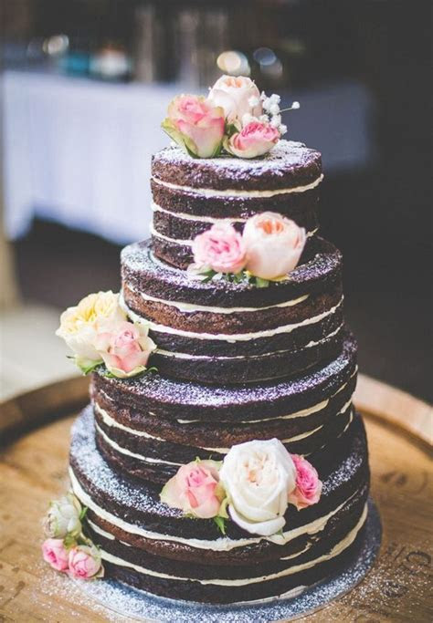 Best 25  Chocolate wedding cakes ideas on Pinterest