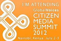 Global Voices Citizen Media Summit 2012 - Nairobi, Kenya. July 2-3