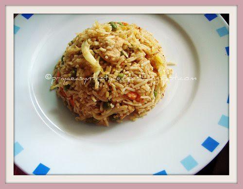 Mixed Veggies & Chicken Pulao