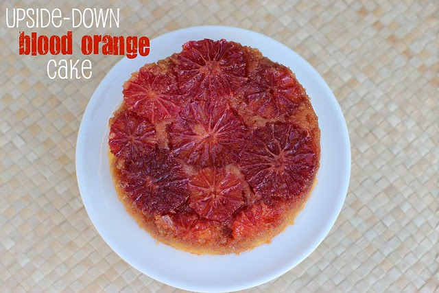 Upside-Down Blood Orange Cake - NY Times