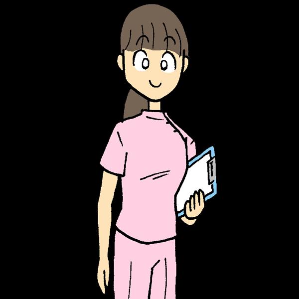 看護師のイラスト かわいいフリー素材が無料のイラストレイン