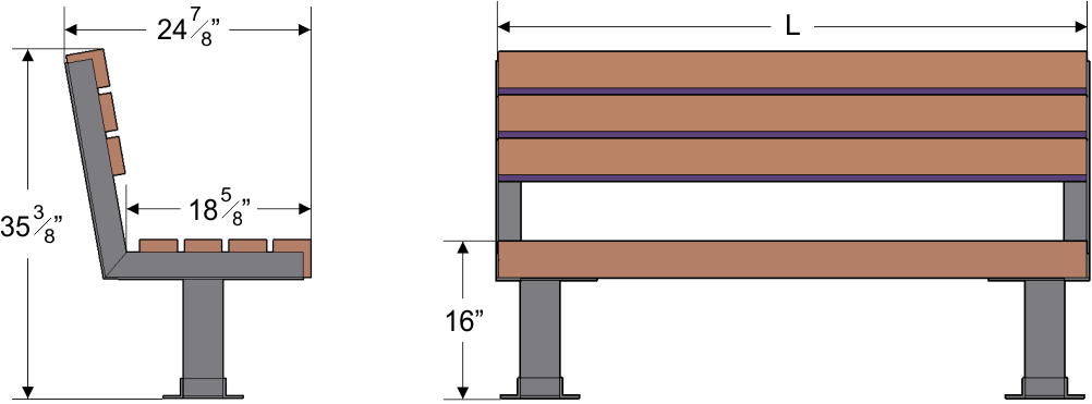 Woodworking Jamrud: Cool Wood backless bench plans