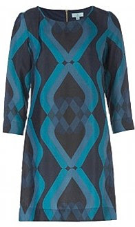 Teal e vestido navy, £ 19,99, newlook.com