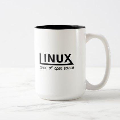 Linux Two-Tone Coffee Mug